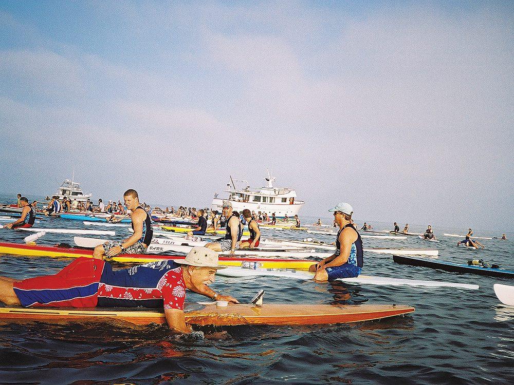 Surfboard Crowd