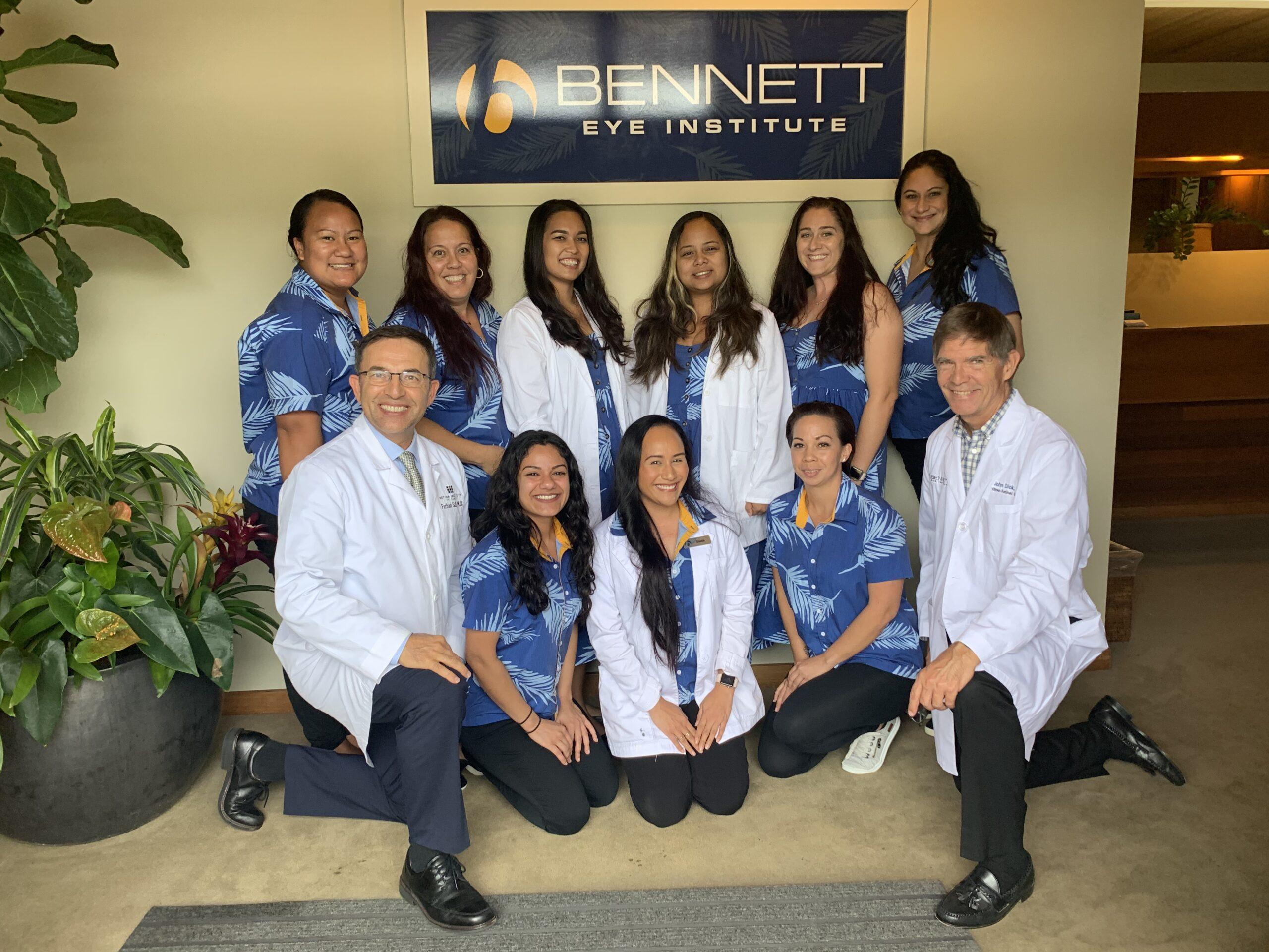 Bennett Eye Institute Staff